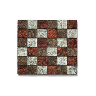 Abacus Glass Mosaic Tile 30 x 30cm