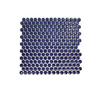 Abacus Round Glass Tile Sheet
