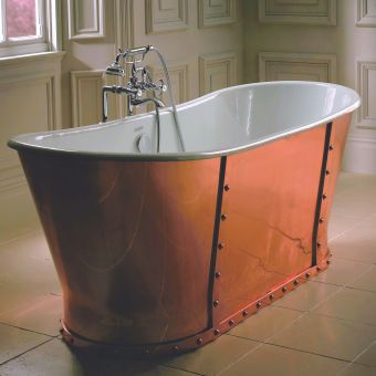 Imperial Baglioni Cobra Copper Cast Iron Freestanding Bath