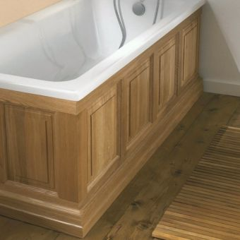 Imperial Bathrooms Raised & Fielded Wooden Bath Panels