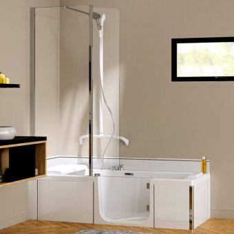 Kinedo Kineduo Walk-in Corner Shower Bath