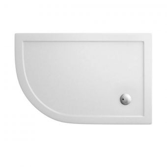 Simpsons 1200x900mm Offset Quadrant Shower Tray - Left Hand