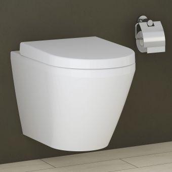 VitrA Integra Compact Rimless Wall Hung Toilet - 70400030075