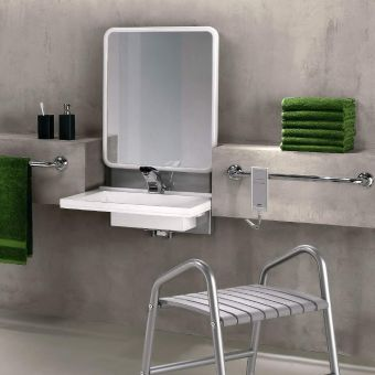 Pellet Electric Adjustable Washbasin Support