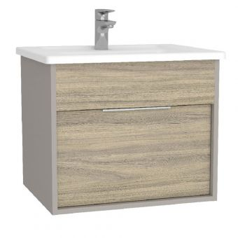 VitrA Integra Small 600mm Vanity Unit with Basin - 61901