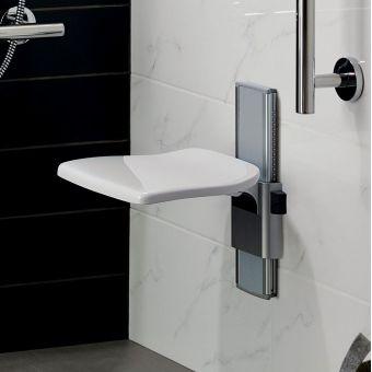 Ideal Standard Care Plus Adjustable Shower Seat - S0644AC