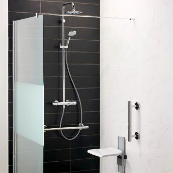 Ideal Standard Freedom Dual Ceratherm 100 Thermostatic Shower Set - A6290AA