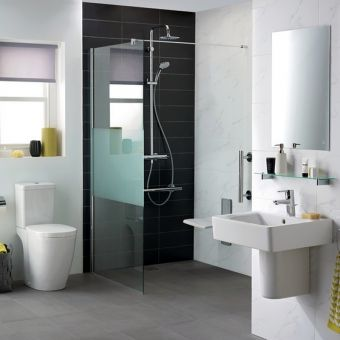 Ideal Standard Synergy Modesty Shower Panel