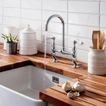 Crosswater Belgravia Dual Lever Kitchen Mixer
