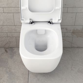VitrA Shift Rimless Wall Hung WC