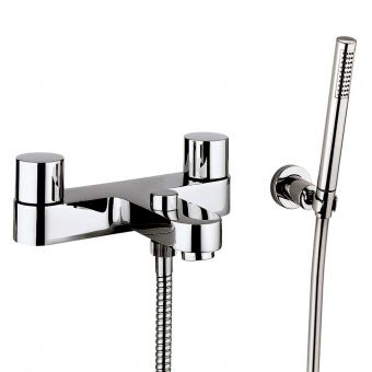 Crosswater Central Bath Filler with Shower Kit