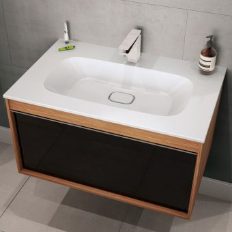 VitrA M-Line Infinit 80cm Single Drawer Vanity
