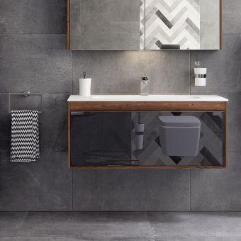 VitrA M-Line Infinit 1200mm Single Drawer Vanity