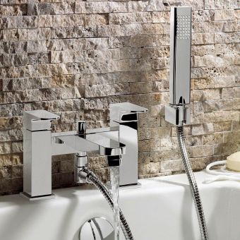 Crosswater Modest Bath Shower Mixer with Shower Kit