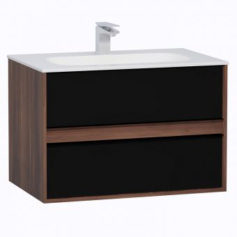 VitrA M-Line Infinit 800mm Double Drawer Vanity
