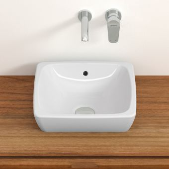 VitrA M-Line Small Square Countertop Basin