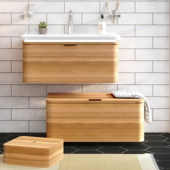 VitrA Nest Trendy 80cm 1 Drawer Vanity
