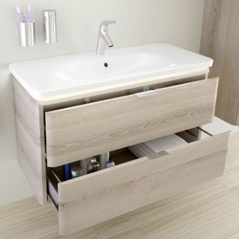 VitrA Nest Trendy 100cm 2 Drawer Vanity