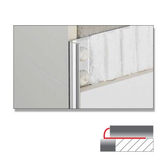Abacus Quadrant Metal Tile Trims