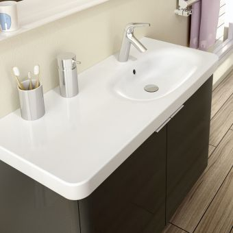 VitrA Nest Asymmetrical 1000mm 2 Door Vanity
