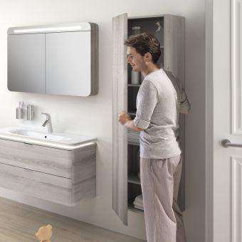 VitrA Nest 1 Door Tall Bathroom Cupboard - 56188