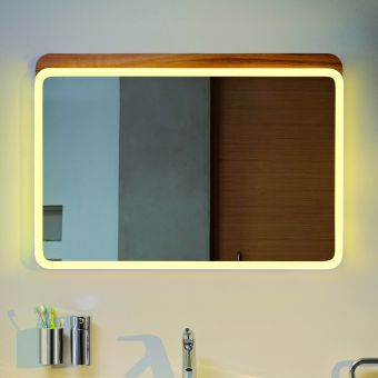 VitrA Nest Mirror with LED Lighting