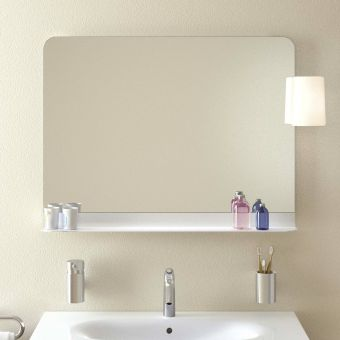 VitrA Nest Mirror with Shelf