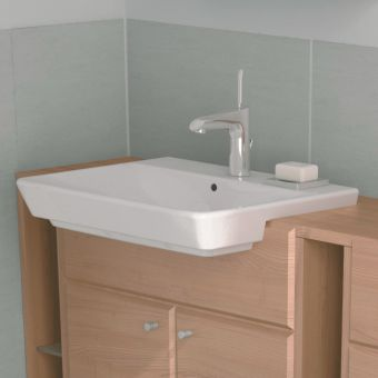 VitrA T4 Semi Recessed Basin