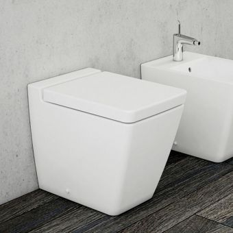 VitrA T4 Rimless Back to Wall WC