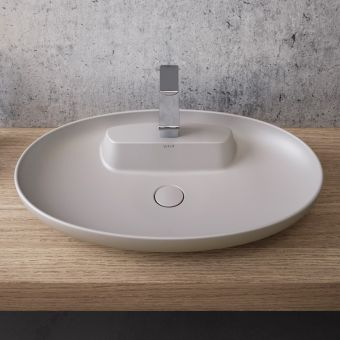 VitrA Memoria Oval Bowl with Ledge