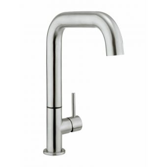Crosswater Tube Side Lever Kitchen Mixer - TU713DS