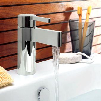 Crosswater Svelte Mini Monobloc Basin Mixer