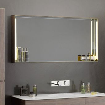 VitrA Memoria Illuminated Mirror with shelf