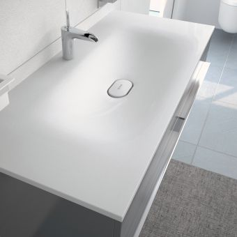 VitrA System Infinit Vanity with Smooth Basin