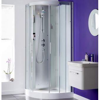 Kinedo Moonligh Quadrant Shower Cubicle with Sliding Doors