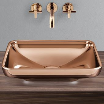 VitrA Water Jewels Rectangular Bowl - 45148