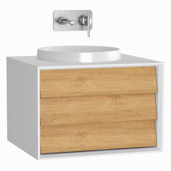 VitrA Frame 1 Drawer 60cm Vanity with Bowl