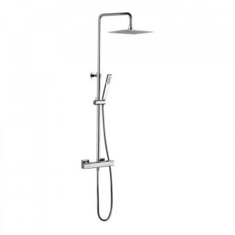 Crosswater Atoll Square Multifunction Thermostatic Shower Set