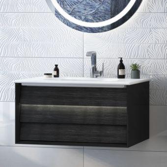 VitrA Frame 1 Drawer 800mm Vanity with Basin