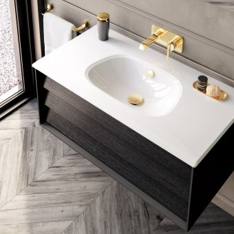 VitrA Frame 1 Drawer 1000mm Vanity with Basin