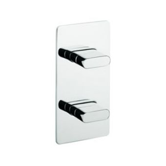 Crosswater Edge Shower Control Wall Mounted Plate