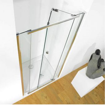 Kudos Infinite Bi-Fold Inward Opening 760mm Shower Door