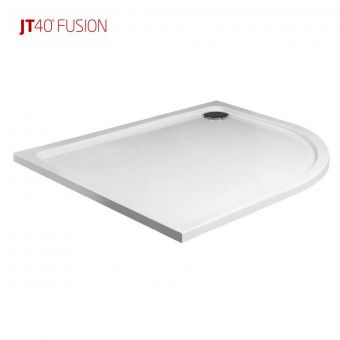 Just Trays Fusion Low Profile Quadrant Shower Tray 900 x 900 with Antislip