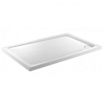 Just Trays Fusion Low Profile Rectangular Shower Tray 1000 x 800 with Antislip
