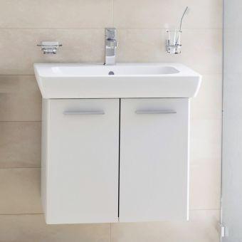 VitrA S20 2 Door 650mm Vanity with Basin - 54782