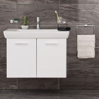 VitrA S20 2 Door 85cm Vanity with Basin