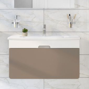 VitrA D Light 70cm LED Illuminated Vanity