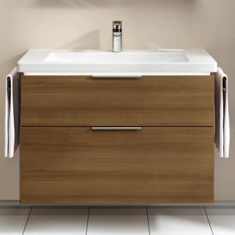 VitrA Ecora 2 Drawer Vanity Unit
