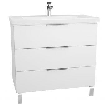 VitrA Ecora 3 Drawer Vanity Unit - 60308