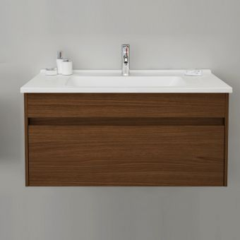VitrA S50 1000mm 1 Drawer Vanity